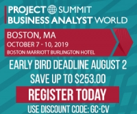 Project Summit Business Analysis World Boston